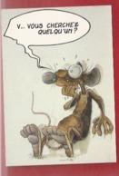 ANIMAUX - HUMOUR - SOURIS - RATS - ILLUSTRATEUR : PTILUC - 1989 -COLL. PACUSH BLUES - VENTS D'OUEST - N°1 - Otros