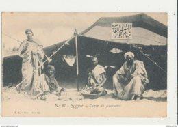 EGYPTE TENTE DE BEDOUINS CPA BON ETAT - Personen