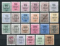 Portugiesisch - Guinea Nr.53/75          O  Used + *  Unused               (001) - Portugiesisch-Guinea