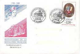 France, Enveloppe, L'arbre De La Liberté, Colombes - Franz. Revolution