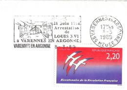 France, Cachet, Arrestation De Louis XVI à Varennes - Franz. Revolution