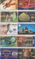 Malta 10 Different  Cards 21-30 - Malta