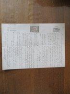 3 JANVIER 1877 A LA REQUETE DE CLEMENCE TROUILLET MARCHANDE A MAROILLES A SEBASTIEN PALADRE A NOYELLES TIMBRE COPIES 50 - Manuskripte