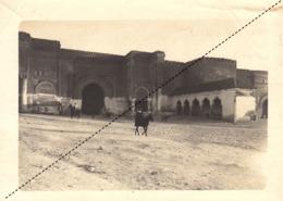 Photo Originale Maroc Meknes Format 17x12,5cm Vers 1910 - Afrique