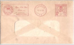 LETTER EMA  1955 GREAT BRITAIN - Química