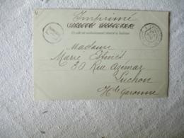 Ambulant De Jour 1901 Paris A Cherbourg 1 Er A Cachet Ambulant Convoyeur Poste Ferroviaire - Marcofilie (Brieven)
