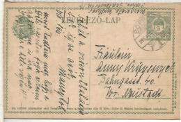 HUNGRIA SOPROR  ENTERO POSTAL 1916 - Enteros Postales