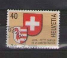 SVIZZERA 1978 JURA 23° CANTONE DELLA CONFEDERAZIONE UNIF. 1071 USATO VF - Usati