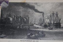 CPA PAIMBOEUF Vue Vers 1840 - Paimboeuf