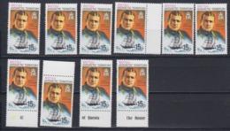 British Antarctic Territory 1981 15p  Ernest Shackleton /  Endurance  Perf 12 5 (10x)  ** Mnh (45025) - Brits Antarctisch Territorium  (BAT)