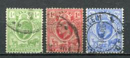 Oranje Freistaat Nr.39, 40 + 42          O  Used               (001) - África Del Sur (...-1961)