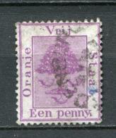 Oranje Freistaat Nr.17          O  Used               (004) - África Del Sur (...-1961)