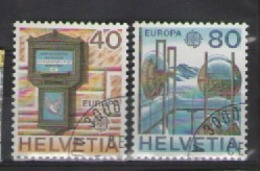 SVIZZERA 1979 EUROPA UNIF. 1084-1085 USATA VF - Usati
