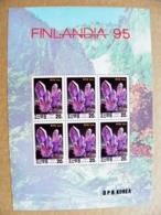 Korea DPR 1995 Minerals Finlandia 95 - Korea, North