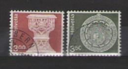 SVIZZERA 1979 ORDINARIA UNIF. 1090-1091 USATA VF - Usati