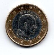 MONACO -- Pièce De 1 Euro Albert II -- 2016 - Monaco