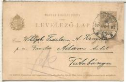 HUNGRIA ENTERO POSTAL 1912 BUDAPEST - Enteros Postales