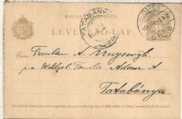 HUNGRIA ENTERO POSTAL 1911 BUDAPEST - Enteros Postales