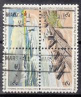 USA Precancel Vorausentwertung Preo, Locals Michigan, Marshall 841, Hatteras Block - Vereinigte Staaten