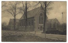 X02 - Assche - Klein-Liefdewerk Van Het H. Hart Van De Missionarissen - Ingang Van De Kerk - Asse