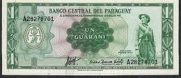PARAGUAY  P193b   1   GUARANI  1952   UNC. - Paraguay