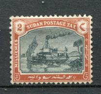 Sudan Porto Nr.5          O  Used               (011) - Gebruikt