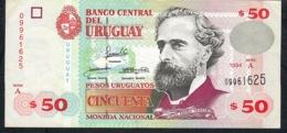 URUGUAY P75a 50 P.U. 1994  XF ! - Uruguay