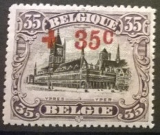 Belgium 1918 - OBP Nr 157 - MNH** - 1918 Croix-Rouge
