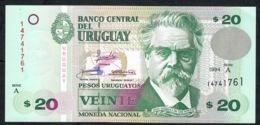 URUGUAY 74a 20 P.U. 1994 UNC. - Uruguay