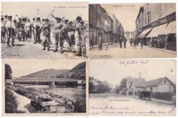 Lot De 400 Cartes France , Petites Cartes Et Drouilles - Ansichtskarten