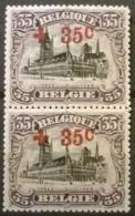 Belgium 1918 - OBP Nr 157 - MNH** - 1918 Red Cross