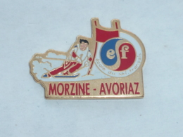 Pin's ECOLE DE SKI FRANCAIS DE MORZINE AVORIAZ - Wintersport
