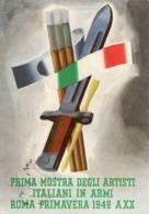 PRIMA MOSTRA DEGLI ARTISTI ITALIANI IN ARMI-1942-PER FIUME-OSPEDALE - Guerra 1939-45