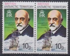 British Antarctic Territory 1981 10p  Jean Baptiste Charcot / Pourqoui Pas ? Perf 12 1v (pair)  ** Mnh (45025A) - Brits Antarctisch Territorium  (BAT)