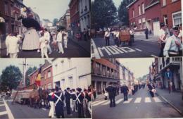 Lot De 27 Photos Couleur 140 Mm X 95 Mm - Années 80 - Cortège Historique Tournai Belgique - Places