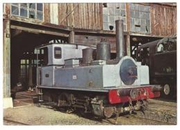 X02 - La 020 T 105 De 1918 Construite Par Corpet Louvet - Dépôt De L'Ajecta à Longueville - Steam Locomotive Railways - Treinen