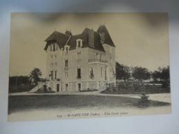 CPA ST GAULTIER LE CHATEAU - Francia