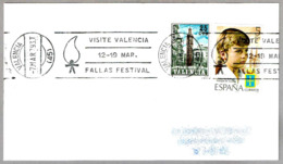 VISITE VALENCIA - FALLAS FESTIVAL. Valencia 1979 - Vacaciones & Turismo