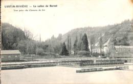 Lustin Rivière - La Vallon Du Burnot - Vue Prise Du Chemin De Fer (Bloc-Terpi 1907) - Profondeville