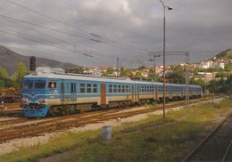 "Macedoine - La Rame ""Riga"" 412 055/056 Assure Le Train 992 - Trains"