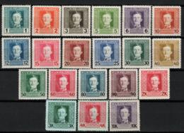 Austria Ungheria Posta Da Campo 1917 Unf.49/68 **/MNH VF - 1850-1918 Empire