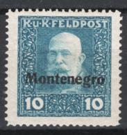 Austria Occupazioni 1918 Montenegro Unf.3 **/MNH VF/F - Ungebraucht