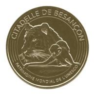 Monnaie De Paris , 2018 , Besançon , Citadelle , Patrimoine Mondial Unesco , Le Tigre Et Le Singe - Monnaie De Paris