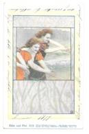 CPA ART NOUVEAU PHILIPP & KRAMER SERIE XI 2 HAMPEL - Illustrateurs & Photographes