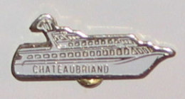Pin's BATEAU 009 CHATEAUBRIAND - Barcos