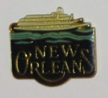 Pin's BATEAU 012 NEW ORLEANS - Barcos