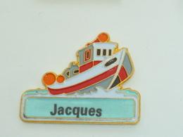 Pin's BATEAU 061 BATEAU DE PECHE, JACQUES - Boats