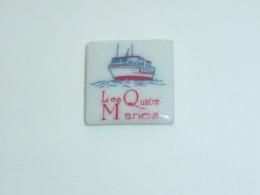 Pin's BATEAU 062 BATEAU DE PECHE, LES QUATRE MARIES - Boats