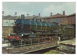 X02 - La 140C 231 De 1914 Au Dépôt De L'Ajecta à Longueville - Steam Locomotive Railways - Treinen