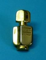 1 PIN'S //   ** INITIATION MOLYNEUX / PARFUM ** . (Doré à L'Or Fin 24K PARIS) - Parfum